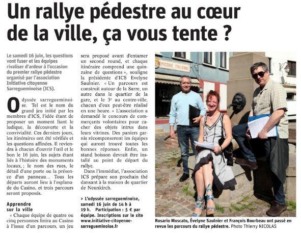 Rallye pedestre